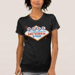 Mamá fabulosa retra de Las Vegas Camisetas