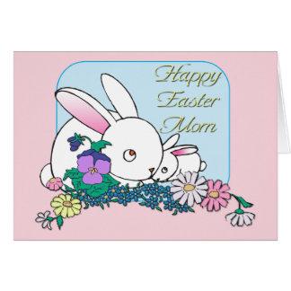 Mamá feliz de Pascua Felicitacion