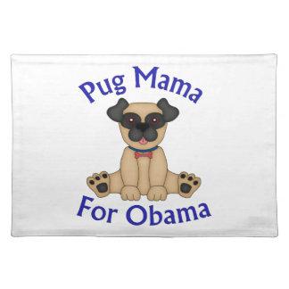 Mamá For Obama Tees y regalos del barro amasado Manteles Individuales