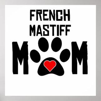 Mamá francesa del mastín
