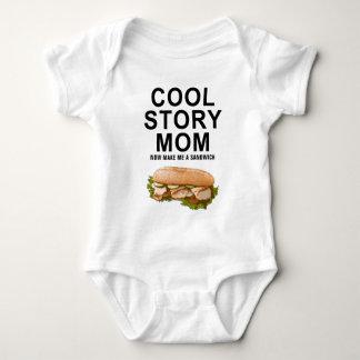 mamá fresca de la historia body para bebé