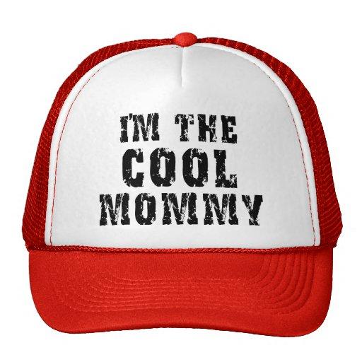 Mamá fresca gorras de camionero