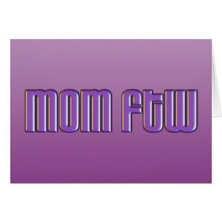 Mamá FTW Tarjetas
