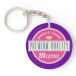 Mama (Funny) Gift Keychain