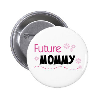 Mamá futura pin redondo 5 cm