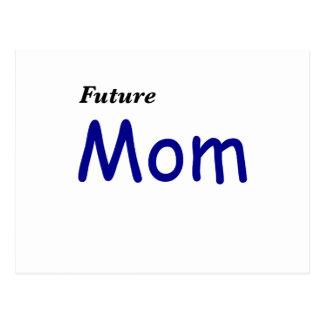 Mamá futura postal