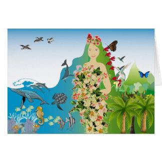Mama Gaia  greeting card
