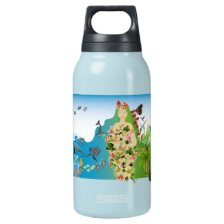 Mama Gaia Thermos Water Bottle