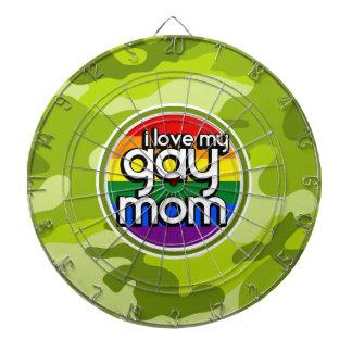 Mamá gay; camo verde claro, camuflaje tablero dardos