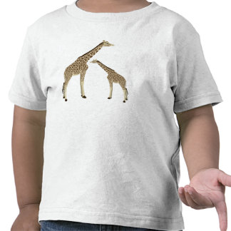 Mamá Giraffe Toddler T-Shirt Camisetas