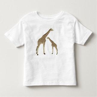 Mamá Giraffe Toddler T-Shirt Playeras