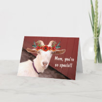 Mama Goat Mother's Day Card