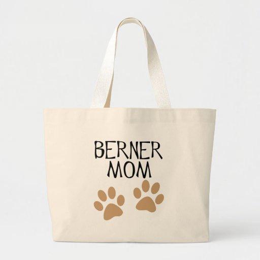Mamá grande de Berner de las patas Bolsas