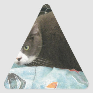 Mama Grey Triangle Sticker