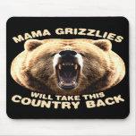 Mamá Grizzlies Alfombrilla De Ratones