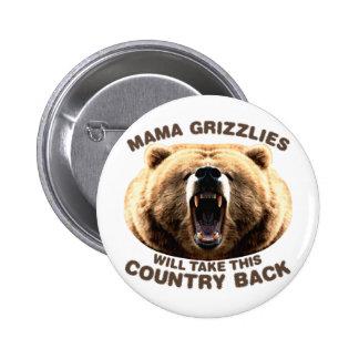 Mama Grizzlies Button