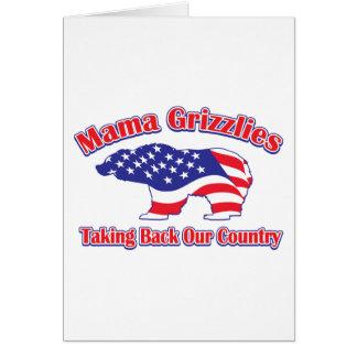 Mama Grizzlies Card