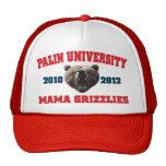 Mamá Grizzlies de la universidad de Palin Gorros Bordados