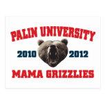 Mamá Grizzlies de la universidad de Palin Postal