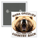Mamá Grizzlies Pin