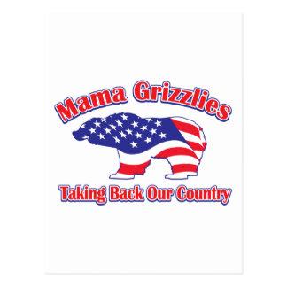Mama Grizzlies Postcard