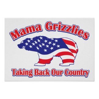 Mama Grizzlies Poster