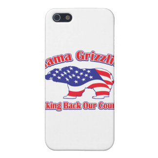 Mama Grizzlies Taking Back Our Country Case For iPhone SE/5/5s