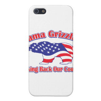 Mama Grizzlies Taking Back Our Country iPhone SE/5/5s Cover