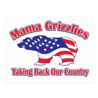 Mama Grizzlies Taking Back Our Country Postcard
