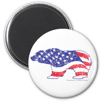 Mama Grizzlies Taking Back out Country 2 Inch Round Magnet