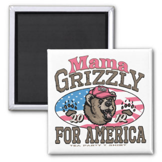 Mama Grizzly Gear for Patriotic Moms Magnet