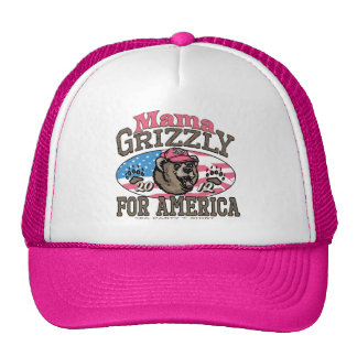 Mama Grizzly Gear for Patriotic Moms Trucker Hat