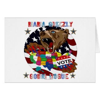 Mama-Grizzly-Going-Rogue-1 Tarjeta De Felicitación