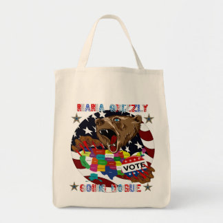 Mama-Grizzly-Going-Rogue-1 Tote Bag