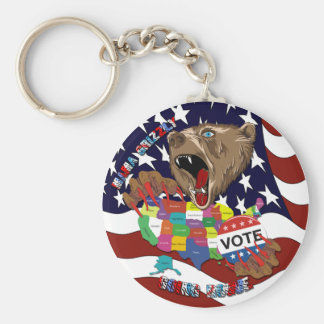Mama-Grizzly-Keychain-1 Llavero Redondo Tipo Pin