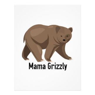 Mama Grizzly Custom Letterhead