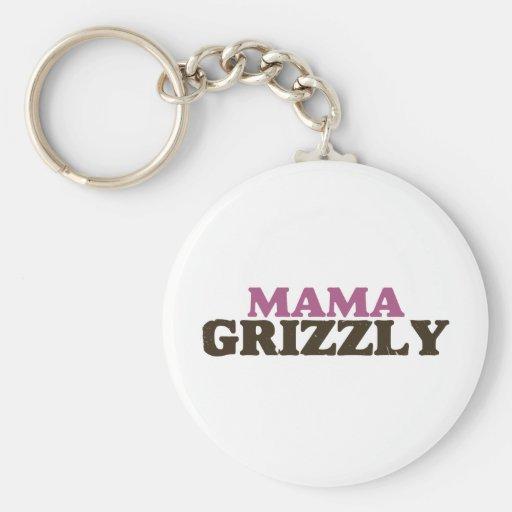Mamá Grizzly Llavero