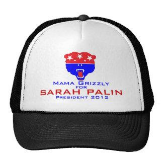 Mamá Grizzly para Sarah Palin Gorras