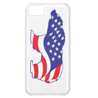 Mama Grizzly Patriotic Grizzly Case For iPhone 5C