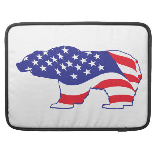 Mama Grizzly Patriotic Grizzly MacBook Pro Sleeve