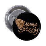 Mamá Grizzly Pins