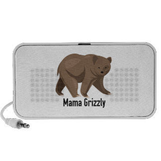 Mama Grizzly Travelling Speaker