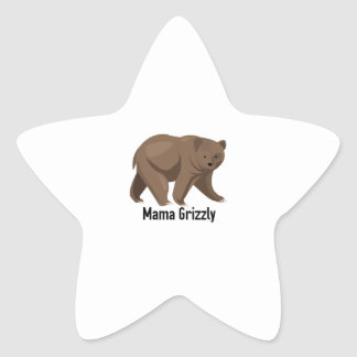 Mama Grizzly Stickers