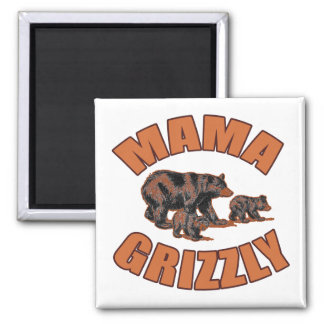 Mama Grizzly T-shirts, Hoodies, Buttons Magnet