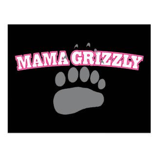 Mamá Grizzly Postal