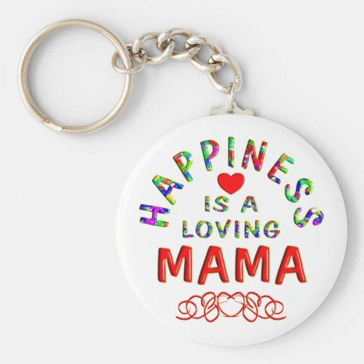 Mamá Happiness Llavero Personalizado