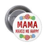 Mamá Happiness Pins