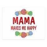 Mamá Happiness Postales