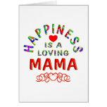 Mamá Happiness Tarjetas