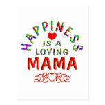 Mamá Happiness Tarjetas Postales